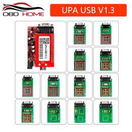 Herramienta de diagnóstico del coche UPA USB Programador en serie Juego completo UPA-USB V1.3 Popular Eeprom Universal Chip Programmer auto ECU Tool desde fabricantes