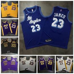 Städtisches gold online-Top-Qualität 2019 Los AngelesLakers Basketball 23 # LeBron James nbaJersey Dense AU Stoff Städtische Version von Black Gold Snake Trikots