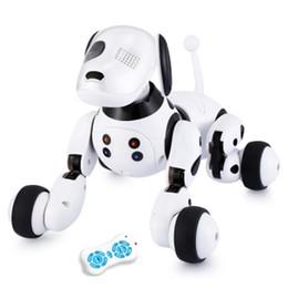 Dimei 9007a Robô Dog Pet Eletrônico Inteligente Robô Do Cão Brinquedo 2.4g Inteligente Sem Fio Falando Controle Remoto Crianças Presente Para O Aniversário T190622 de