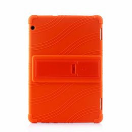 Argentina 50 unids Silicona Suave TPU Volver Funda para Huawei Mediapad Honor Tablet 5 AGS2-W09HN 10.1 pulgadas Tablet Suministro