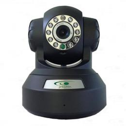 Jrecam JM3866W Wireless Security IP Camera 720P megapixel P2P Plug and Play audio bi-direzionale con visione notturna di IR - Nero da