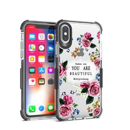 Canada Pour Iphone XS XR XS MAX 8 8 plus cristal clair couleur décoration cas en TPU absorption des chocs souple couverture arrière Shell Offre