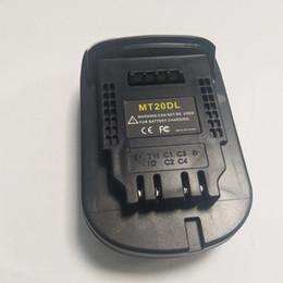Batterie per makita online-Per Makita BL1820 / 30 Li-ion convertito Batteria per DEWALT Adapter Strumento 18V (solo adattatore)