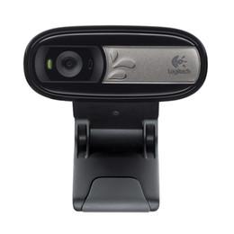 Câmeras de tv on-line-C170 Original Webcam com Microfone USB Web Cam Câmera HD Plug-and-Play, para PC Notebook Laptop Tablet TV CAIXA