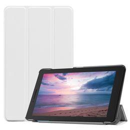 lenovo ultra slim Desconto Ultra Slim Suporte Flip Capa de Couro Magnético PU para Lenovo Tab E8 TB-8304F Tablet PC Pele Protetora Shell + Stylus