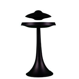 long orador Desconto estilo Magnetic levitado UFO sete cores de luz inteligente baixo alto-falante Bluetooth DeNoise Super Audio carregamento longa espera sem fio à prova d'água