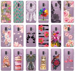 Yumuşak Tpu Kapak Samsung Galaxy S8 Durumda Pembe Çiçekler Samsung S9 Kılıf Samsung Galaxy S8 S9 Artı Telefon Kılıfı Için Yeni Gelenler nereden
