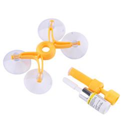 Set di strumenti di riparazione parabrezza parabrezza Kit per auto fai da te di vetro del vento per crack cracker Set di strumenti per la riparazione di vetri per auto all'ingrosso da bottiglie in ceramica fornitori