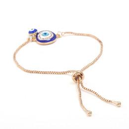 Braccialetto Big Eyes blu pendente per le donne Fishion Marca fidanzata fidanzato regalo artigianato cena accessori Bracciale nuovo arrivo Lovers da collana tailandese fornitori