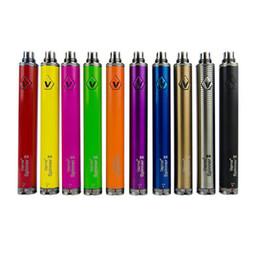 Clearomizer ego c en Ligne-Vision spinner 2 II 1600 mah C twist Vision2 Batterie E Cigs Electronique Cigarettes eGo atomiseur Clearomizer Coloré DHL EC005