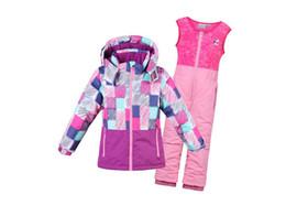 2019 nouvelle arrivée chaleur Ski et Snowboard veste Snow Set Pantalons et costumes pour enfants garçons filles imperméable coupe-vent ? partir de fabricateur