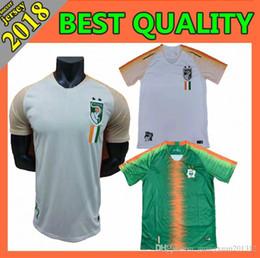 cb26fa3e8 2018 2019 Cote dIvoire Soccer Jersey Ivory Coast 11 Didier Drogba Uniforms  Custom Thailand 8 KALOU 10 GERVINHO 19 TOURE YAYA Football Shirt