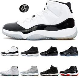 2020 недорогая мужская обувь из змеиной кожи Дешевые 11 Обувь Баскетбол для Женщины Мужчины Concord Snakeskin Cap и платье Orange Trance Space Jam Мужские Тренер Спортивные кроссовки 5.5-13 дешево недорогая мужская обувь из змеиной кожи