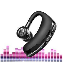 kopfhörer-headset bluetooth auto Rabatt V9 Intelligente Drahtlose Kopfhörer Sprachsteuerung Bluetooth 4,1 Stereo Fahrzeug Headset Magnetische Ohrhörer Stimme Auto Fahren Bluetooth