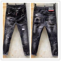 bandera americana hombres capris Rebajas 2020, los pantalones vaqueros de desgaste de los hombres nueva marca de moda de Europa y América de verano son los pantalones vaqueros ocasionales de los hombres 954