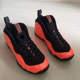 2030228cb5b8f Hommes Penny Hardaway 1 Chaussures de basket-ball Mousse Habanero Rouge Noir  Hommes Deisgner Hommes populaires Sportif Sports de plein air Entraîneur