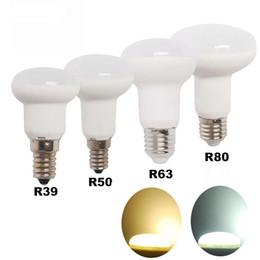Ampoule r39 en Ligne-E14 E27 Ampoule Led R39 R50 R63 R80 Lampe Lampada Ampoule Projecteur Lumière 5W 7W 9W Maison Économie D'énergie conduit lumières