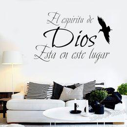 Frases De Pared De Vinilo Religioso Online Frases De Pared
