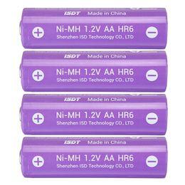aa caricabatterie ricaricabili Sconti 4 pezzi ISDT 1.5V 2000mAh ricaricabile AA Ni-MH Batteria per ISDT C4 N8 Caricabatterie