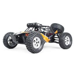 Auto di bigfoot rc online-1/12 2.4G 4WD 30 km / h Telecomando spazzolato RC Auto da corsa Deserto fuoristrada con guida a LED Bigfoot RC Car