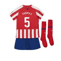 Canada 2019 Atletico rouge home DIEGO COSTA JOAO FELIX maillot de football pour enfants 2020 enfant pas cher maillots de football kit supplier cheap kit homes Offre
