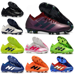 hombres zapatos fútbol messi Rebajas Botas de fútbol de tobillo para hombre  2019 Nemeziz Messi 18.1 bb2d08d293f28