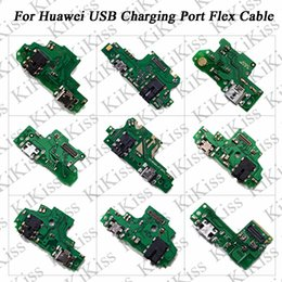 huawei docking Promo Codes - KiKiss USB Charging Port Charger Board Flex Cable For Huawei NOVA 2 2S Honor 5 6S 7 7S 7 Plus 8E NOVA 3E P20 Dock Plug Connector