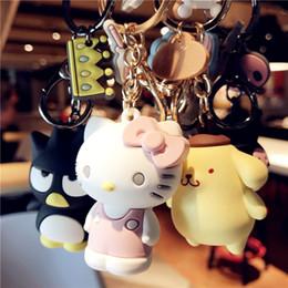korea zuhause dekorationen Rabatt 2019 New Keychain Cartoon Korea beliebte Cartoon Tier sehr nett für Freund Geschenk Weihnachtsschmuck für Zuhause earing Ring