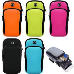 2020 titular de blackberry para o esporte Esporte Armband execução Jogging Gym Armband Pouch Bag Holder para o iPhone Samsung Huawei Universal titular de blackberry para o esporte barato