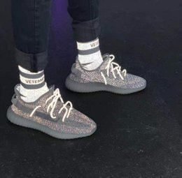 Modemarke Vetements Starry Socks 3M Reflective Stripe Socken European American Street Hip Hop Sport Männer Frauen Stocking Socks von Fabrikanten