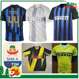 d688ff9e3c857 20 años Inter jersey CANDREVA EDER ICARDI JOVETIC Milán hogar lejos  Kondogbia Jovetic 2019 Icardi deportes 18 19 camisetas