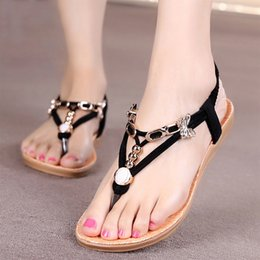 2019 eule sandalen GEZICHTA Womens Sandal Schuhe Thong Flip Flops Schuh Sommer Eule Perlen Sandale Komfortable Rutschfeste Flache Schuhe (13 günstig eule sandalen