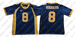 9303adc56 Cheap custom Aaron Rodgers Jersey  8 California Golden Bears Football  Jersey Stitched Customize any number name MEN WOMEN YOUTH XS-5XL