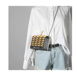 Billige hochwertige handtaschen online-Hohe Qualität Billig Damen Handtaschen Lässig Umhängetaschen Jugend Mädchen Brand Design Cross-Body Tote Lustige Pille Weiblichen Taschen