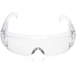 Rüzgar geçirmez Anti Toz Dayanıklı Şeffaf Göz Koruyucu Gözlük Güvenlik Gözlükler Temizle Koruyucu Çalışma Gözlük cheap glasses protector safety nereden gözlük koruyucusu güvenliği tedarikçiler