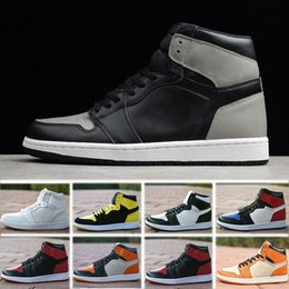 11be302600b6f Nike Air Jordan 1 Retro basketball shoes 2018 Nuevo 1 High OG Game Royal  Banned Shadow Bred Toe zapatos casuales baratos Hombres 1s Shattered  Backboard ...