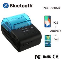 ZJ-5805 58mm Bluetooth Yazıcı Termal Yazıcı Mini Cep Telefonu Android iOS Windows Için Taşınabilir Makbuz Bilet Makinesi ZJ-5805DD nereden