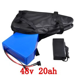 Canada Grand Triangle batterie de vélo électrique 48v 20ah pour Samsung cellule lithium ion pour 1000w 1500w 2000w moteur e vélo scooter kit + sac cheap e bike kit battery Offre