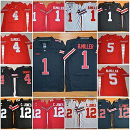 Cardale jones jersey online-NCAA Ohio State Buckeyes J.T. Barrett-Trikot Curtis Samuel Braxton Miller