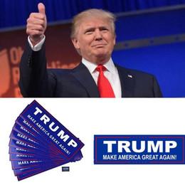 Autocolantes para automóveis on-line-23 * 7.6 cm Automotive Donald Trump Bumper Fazer América Grande Novamente Adesivos de Carro adesivos de letra FFA902 4000 PCS