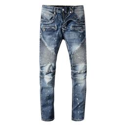 longueur au genou t shirts hommes Promotion Jeans hommes concepteur t-shirts Punk d'été droit Longueur genou Mode confortable Jeans Hommes Femmes Coton Tendance Denim