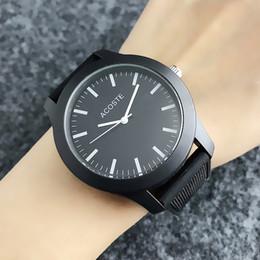 2019 reloj plateado vintage Casual tipo cocodrilo hombres de las mujeres unisex animal Dial correa de silicona analógico de pulsera de cuarzo LA06
