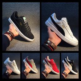 [Mit sportuhr] 2018 Designer shoes PUMA men women Unisex GAZELLE Klassische Casual Flache Schuhe Wildleder Sneakers Outdoor Leichte Männer Frauen Walking Wanderschuhe groß von Fabrikanten