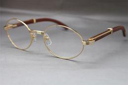 brillengestell rosa Rabatt 2019 Großhandel 7550178 Holz Brillen Designer Brillen Rahmen Frauen Hot mit Box Frames Vintage Brillen Größe: 55-22-135 mm