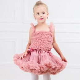 Yeni Moda Bebek Kız Tutuş Çocuklar Kabarık Şifon Pettiskirt Çocuk Prenses Parti Doğum Günü Balo Kabarcık Etek nereden tutu girls naylon şifon tedarikçiler