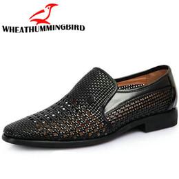 Sandali eleganti papà estate scarpe traspiranti sandali per scarpe da uomo di mezza età ritagliate su pelle da uomo AD-02 cheap summer dress middle aged da estate vestito di mezza età fornitori