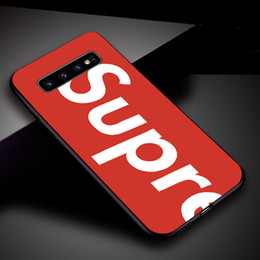Cas de téléphone de concepteur de SUP pour Samsung Galaxy S7 S8 S9 S9 S10 Plus doux TPU Silicone Case Cover Case ? partir de fabricateur