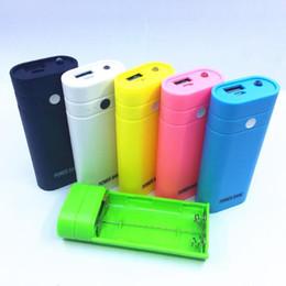 супер цифровой мобильный Скидка Сотовый телефон Power Bank Пластиковый чехол Адаптер зарядного устройства Портативный 5600mAh 18650 Внешнее зарядное устройство USB USB Power Bank Case CD014