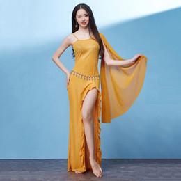 Bellydance Disfraz Vestido de Bollywood Vestido de Bailarina de Damas para Damas Ropa de Baile del Vientre Danza Rendimiento Oriental DNV11268 desde fabricantes