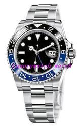 relojes de madera hechos a mano Rebajas 17 Mens del estilo del reloj de GM / T de 40 mm 116710 116713 126710 126719 116718 116719 Pulsera de acero inoxidable automático de lujo del reloj de los relojes de manera